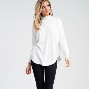 Jolie Sweaters - Long Sleeve Turtle Neck Sweater